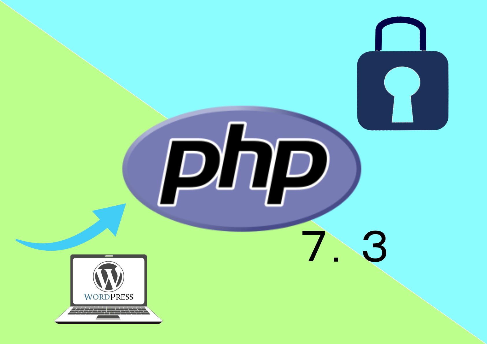 WordPressのPHPのバージョンは7.3