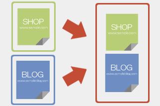aishipRのECサイトと同じドメインでブログ運用が可能