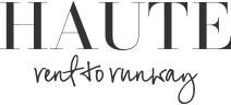 HAUTErenttorunway ロゴ