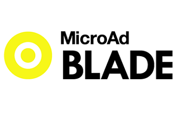 MicroAd BLADEロゴ