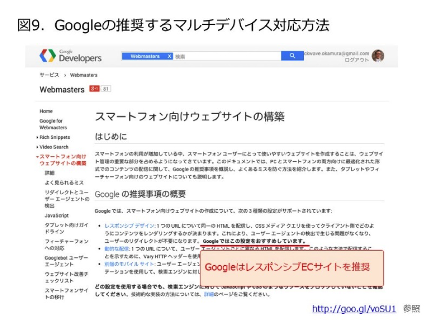 Googleの対応